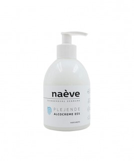 naéve - Alcocreme 330 ml., Parfumefri 85%