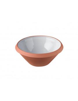 Knapstrup Keramik - Dejfad 5 ltr. Lys grå.