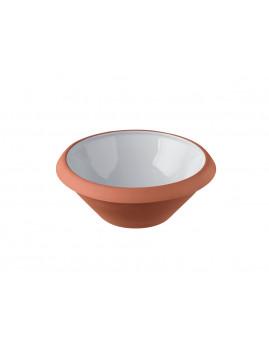 Knapstrup Keramik - Dejfad 2 ltr. Lys grå.