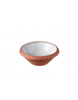 Knabstrup Keramik - Dejfad 0,5 ltr. Lys grå.