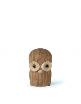 Gunnar Flørning - Hornugle 6 cm., Eg