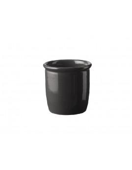 Knapstrup Keramik - Syltekrukke 0,5 ltr. antracitgrå.