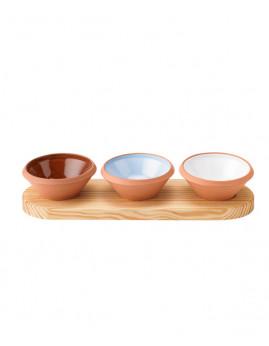 Knabstrup Keramik - Dejfad 0,1 ltr, 3-pak