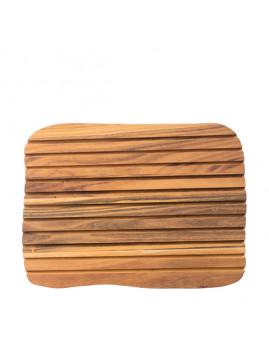 RAW - Brødskærebræt 36x27x2 cm, teaktræ