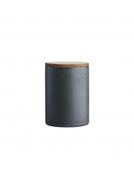 RAW Northern Green - Krukke m. teaklåg 15 x 10 cm