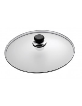 Scanpan Classic - Grydelåg i glas, 18 cm.