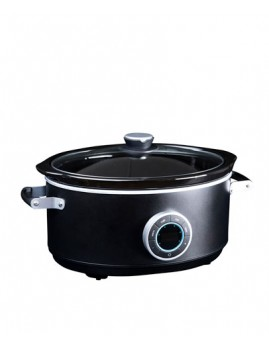 Gastronoma - Digital Slow Cooker 6,5 ltr. sort.
