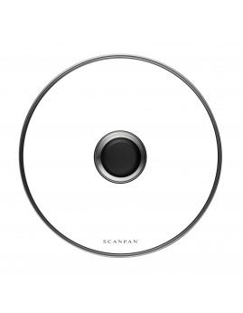 Scanpan Classic - Grydelåg i glas, 24 cm.