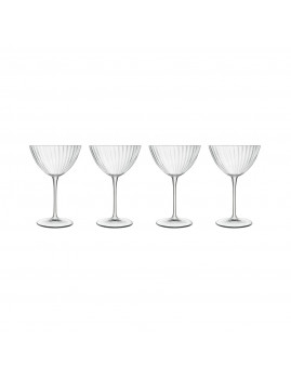 Luigi Bormioli Optica - Martiniglas 22 cl 4 stk., Klar