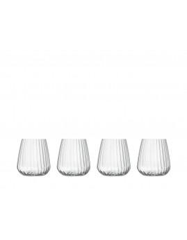Luigi Bormioli Optica - Vandglas 45 cl, 4 stk.