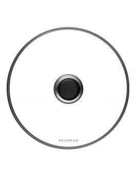 Scanpan Classic - Grydelåg i glas, 26 cm.