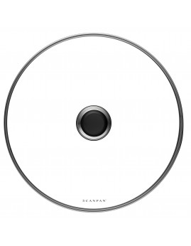 Scanpan Classic - Grydelåg i glas, 32 cm.