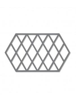 Zone Harlequin - Bordskåner 24 x 14 cm., Cool Grey