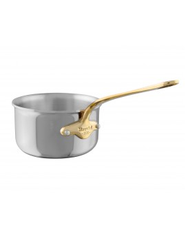 Mauviel Cook Style stål/messing - Kasserolle 1,7 ltr