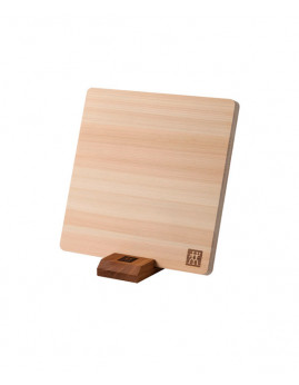 Zwilling Hinoki - Skærebræt str. S 22x22x1,5 cm, hinoki træ