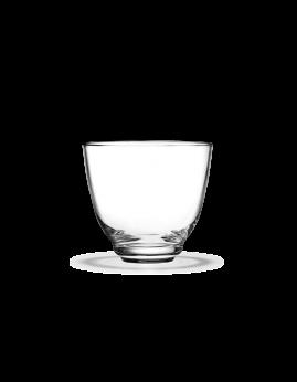 Holmegaard Flow - Vandglas 35 cl, klar.