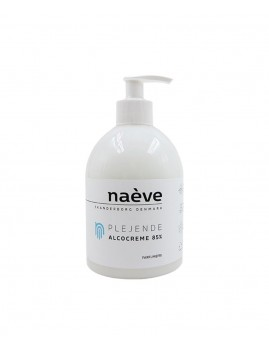 naéve - Alcocreme 522 ml., Parfumefri 85%