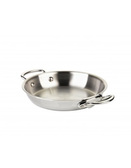Mauviel Cook Style - Pande m. 2 greb 20 cm