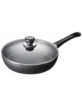 Scanpan Classic Induction - Sauterpande m. glaslåg 28 cm