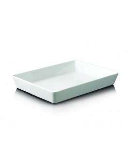 Aida Aroma de Luxe - Rektangulært Fad 34 x 25 x 5 cm. Hvid.