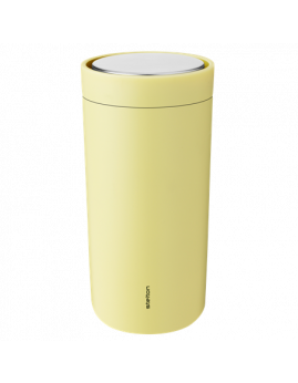 Stelton To Go Click - Termokrus 0,4 ltr. Soft Yellow.