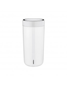 Stelton i:cons - To go click d. steel termokop - 0,4 l, Chalk