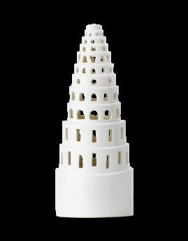 Kähler Urbania - Lyshus Højt tårn, hvid.