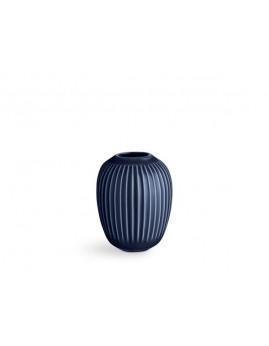 Kähler Hammershøi - Vase Ø8,5X10 cm, indigo