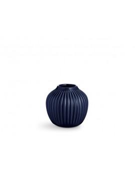 Kähler Hammershøi - Vase Ø13,5x12 cm, indigo