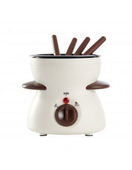 Schou Day - Chokoladefondue med 4 gafler, 25W