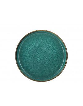 Bitz - Tallerken 27 cm, mat grøn/blank grøn