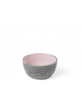 Bitz - Skål 10 cm grå/lyserød