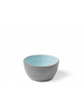 Bitz - Skål 10 cm grå/lyseblå