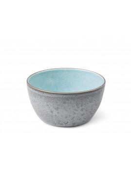 Bitz - Skål 14 cm grå/lyseblå