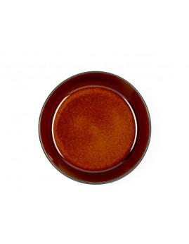 Bitz - Suppeskål 18 cm. mat sort/blank amber