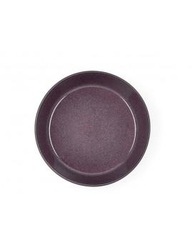 Bitz - Suppeskål 18 cm. mat sort/blank lilla