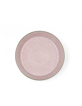 Bitz - Suppeskål 18 cm. mat grå/blank lyserød