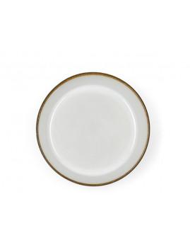 Bitz - Suppeskål 18 cm. mat grå/blank creme