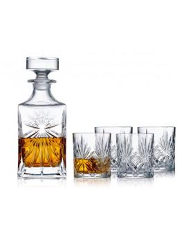 Lyngby Glas - Melodia Krystal Whiskeysæt 5 dele