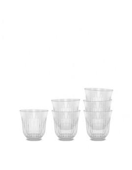 Lyngby Iconic Porcelain - Drikkeglas 26 cl, 6-pak