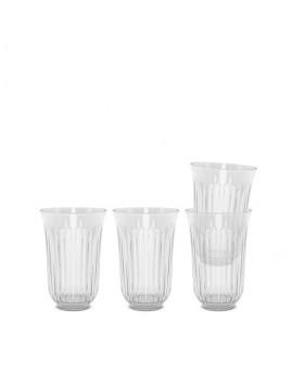 Lyngby Iconic Porcelain - Drikkeglas 42 cl, 4-pak