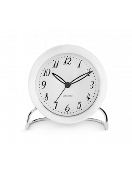 Arne Jacobsen - LK Bordur hvid, Ø 11 cm, alarm