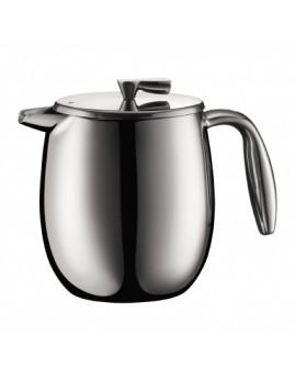 Bodum Columbia - Dobbeltvægget kaffebrygger 0,5 ltr (4 kop) Mat krom.
