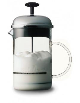 Bodum Chambord - Manuel Mælkeskummer m. glas håndtag 0,25 ltr. Krom