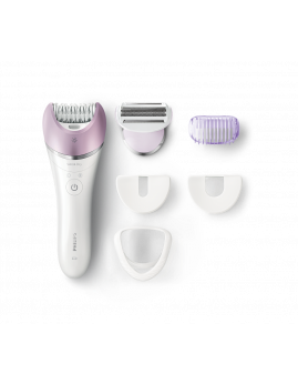 Philips - Satinelle Avanced Wet & Dry Epilator, lilla.