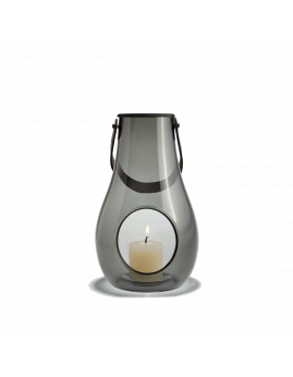 Holmegaard DWL - Lanterne 25 cm, smoke