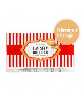 Sweetkitchen - Bolchekit, pebermynte & orange