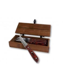 Gense Old Farmer Classic - XL steakknive, 4 stk