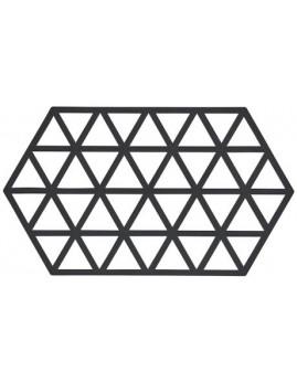 Zone Triangles - Bordskåner i silikone, sort.