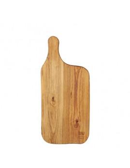 RAW - Skærebræt 37,5x17 cm, teaktræ